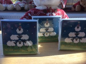 Christmas Cards for charity | We wish ewe a Merry Christmas | In aid of Burning Nights CRPS Support