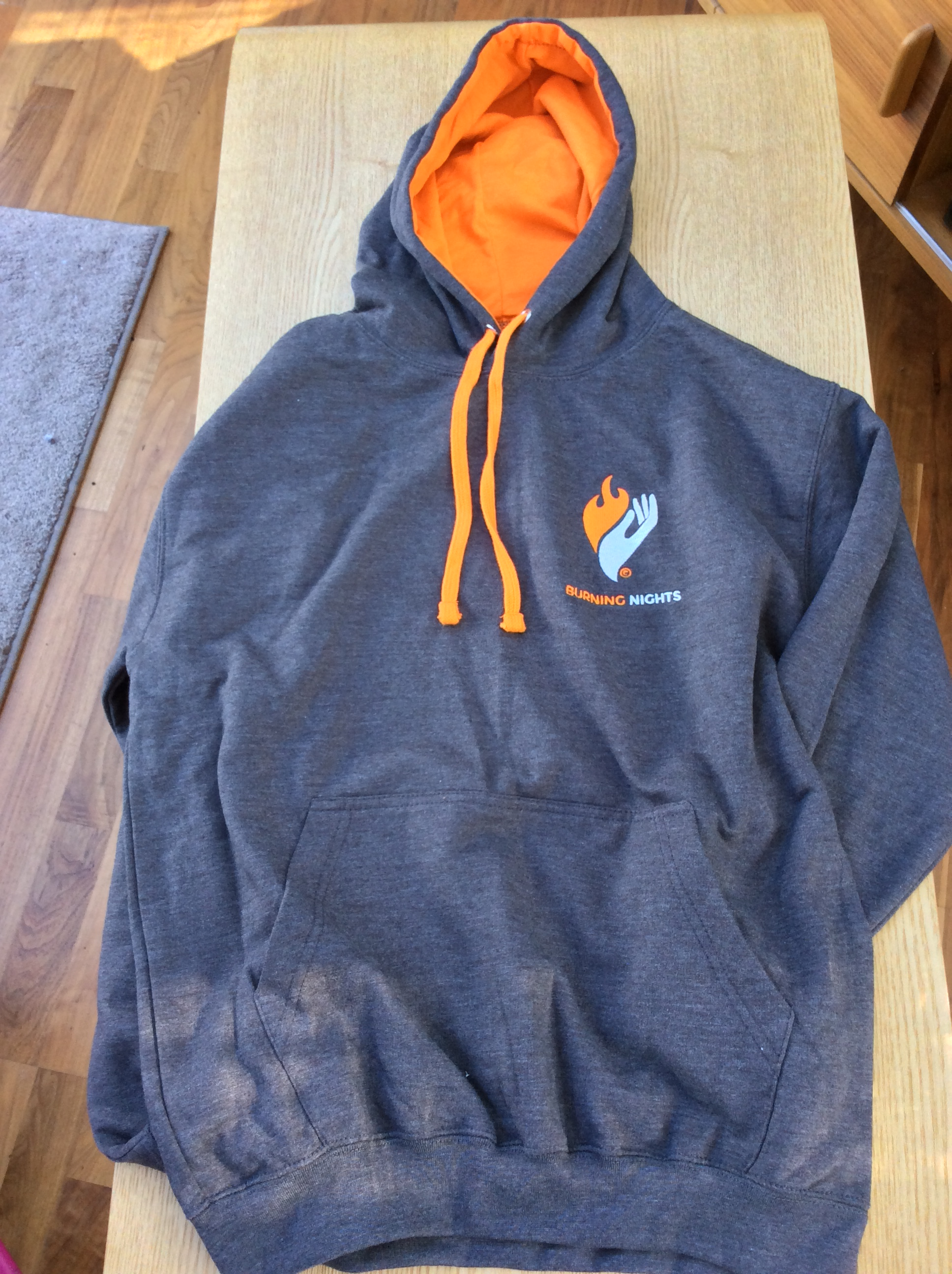 Exclusive Burning Nights CRPS Support Hoodie via Burning Nights CRPS Support charity