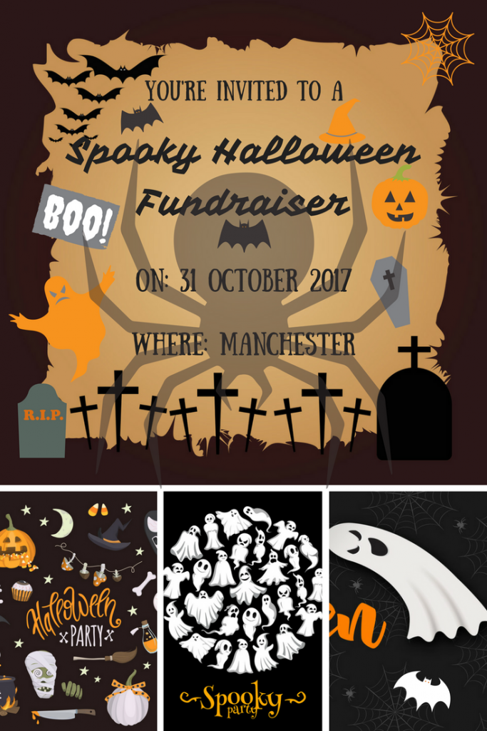 Spooky Halloween Fundraiser in aid of Burning Nights CRPS Support
