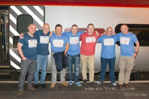 The 8 Bighearted Railwaymen - The team