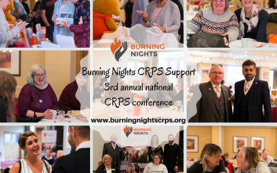3rd Annual National Burning Nights CRPS Support Conference Summary - The 2017 annual conference was a great event overall