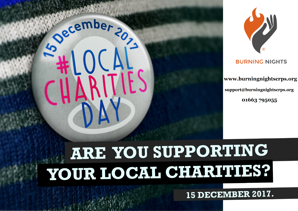 Local Charities Day 2017 - Burning Nights CRPS Support charity