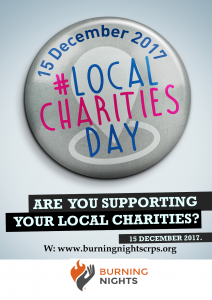 Local Charities Day 2017 - Support Burning Nights CRPS Support | UK charity dedicated to raising awareness of Complex Regional Pain Syndrome (CRPS)
