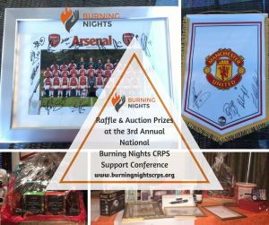 Raffle & Auction Prizes at the 3rd Annual National Burning Nights CRPS Support Conference