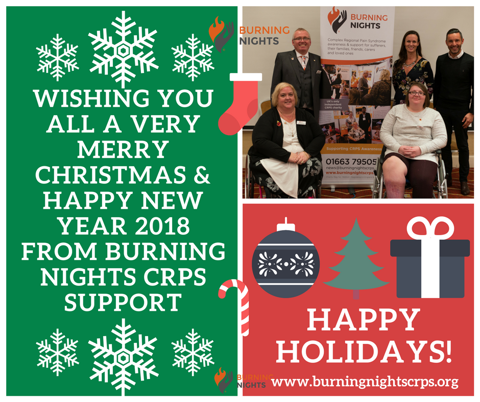 merry christmas happy new year 2018 from all of us at burning nights crps support