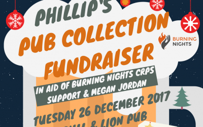 Phillip's Pub Collection fundraiser in aid of Burning Nights CRPS Support and Megan Jordan