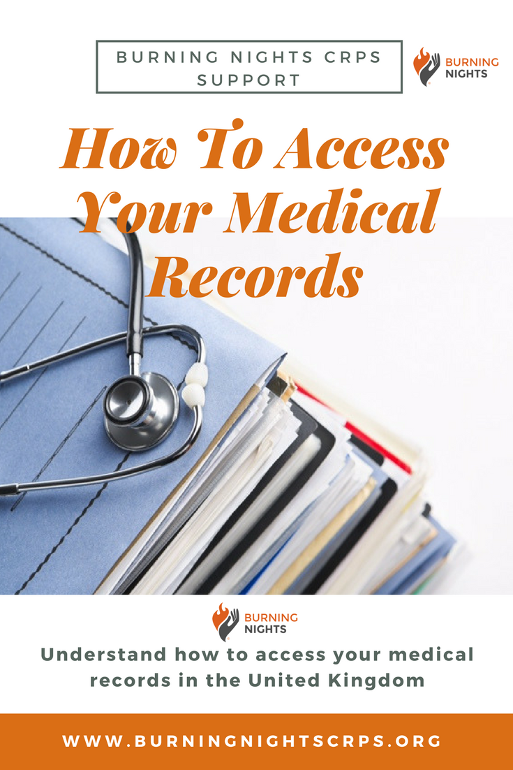 How To Access Your Medical Records | Burning Nights CRPS Support