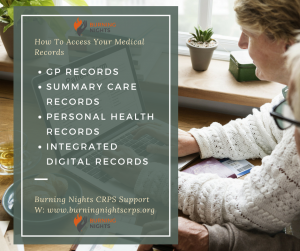 How To Access Your Medical Records | Types of Health Records Available | Burning Nights CRPS Support