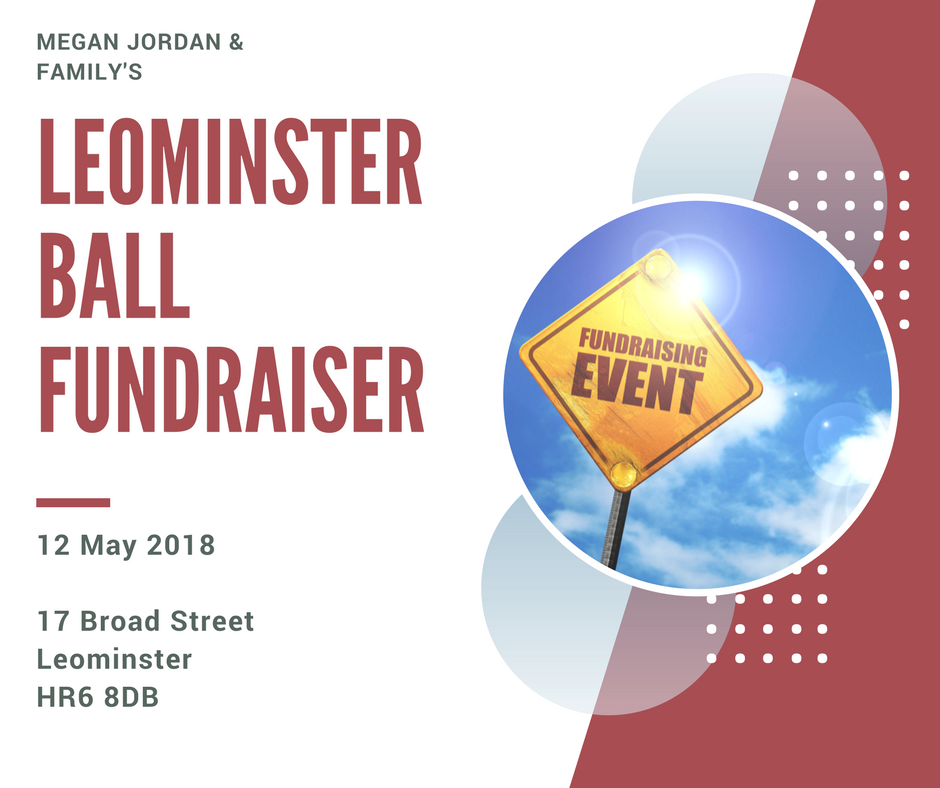 Leominster Ball Fundraiser in aid of Megan Jordan and Burning Nights CRPS Support charity