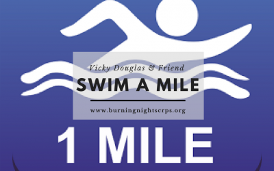 Swim A Mile For Megan Jordan Fundraiser and Burning Nights CRPS Support