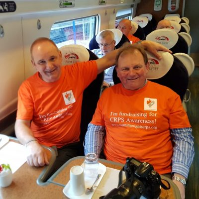 8Bigheartedmen fundraiser non-stop tour of UK and Ireland in aid of Burning Nights CRPS Support charity