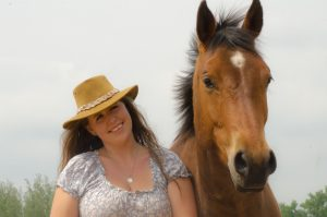 Kelly's CRPS Journey - Kelly and her horse