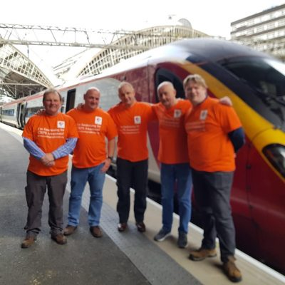 The 8Bigheartedmen fundraiser in aid of Burning Nights CRPS Support