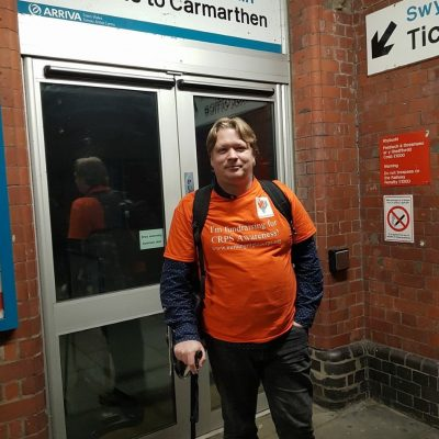 The 8Bigheartedmen fundraiser non stop tour of UK in aid of Burning Nights CRPS Support - Stephen, a fellow CRPS patient was involved in the 8Bigheartedmen fundraiser which was completed in approximately 53 hours