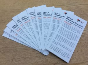 Does your child or teen live with Complex Regional Pain Syndrome? If so the Burning Nights CRPS Support CRPS in Children and Teenagers leaflet is a good resource to have especially for their school or college as well as to help their friends and family understand the condition they're living with.