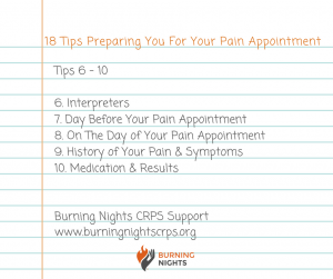 Receiving your first pain management appointment letter can give you mixed emotions all at once. Our blog, 18 Tips Preparing You For Your Pain Appointment, will hopefully help you get ready for the appointment to ensure that you make the most out of your time