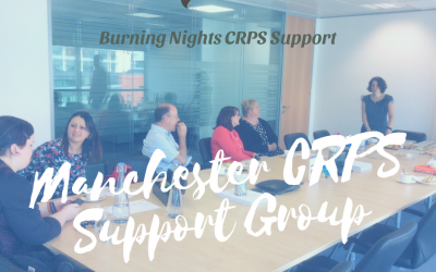 Our May 2018 Manchester CRPS support group is on Thursday 31 May 2018 at 2pm - 4pm at St. James' Place Wealth Management, Sunlight House, Manchester city centre. Why not come along and meet other Complex Regional Pain Syndrome (CRPS) patients and their families. You're not alone!