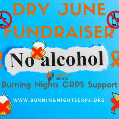 A lady is taking a month off alcohol in aid of charity! Laura will not be drinking throughout the whole of June to support both her friend who lives with Complex Regional Pain Syndrome (CRPS) and also Burning Nights CRPS Support. Laura's Dry June charity fundraiser will end on 30th June 2018. Good Luck Laura!