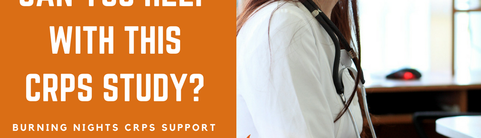 Can You Help With This CRPS Study For Young People? Are you a young people with CRPS or their parent/caregiver and willing to help us with our research studies to look at CRPS in young people?