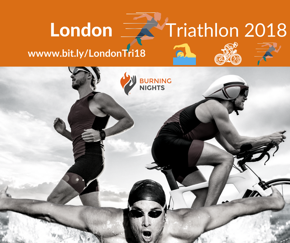 Stuart Cooper will be taking on the London Triathlon 2018 on 5th August 2018 in aid of Burning Nights CRPS Support charity. If you'd like to donate to Stuart's CRPS charity fundraiser please visit www.bit.ly/LondonTri18