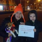 CRPS Awareness Month - Blackpool Tower Light Up 2017