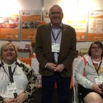 Occupational Therapy Show 2017 also known as OT Show 2017 -3 of the Burning Nights CRPS Support charity team