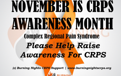 Help us raise awareness of Complex Regional Pain Syndrome (CRPS) during CRPS Awareness Month 2018