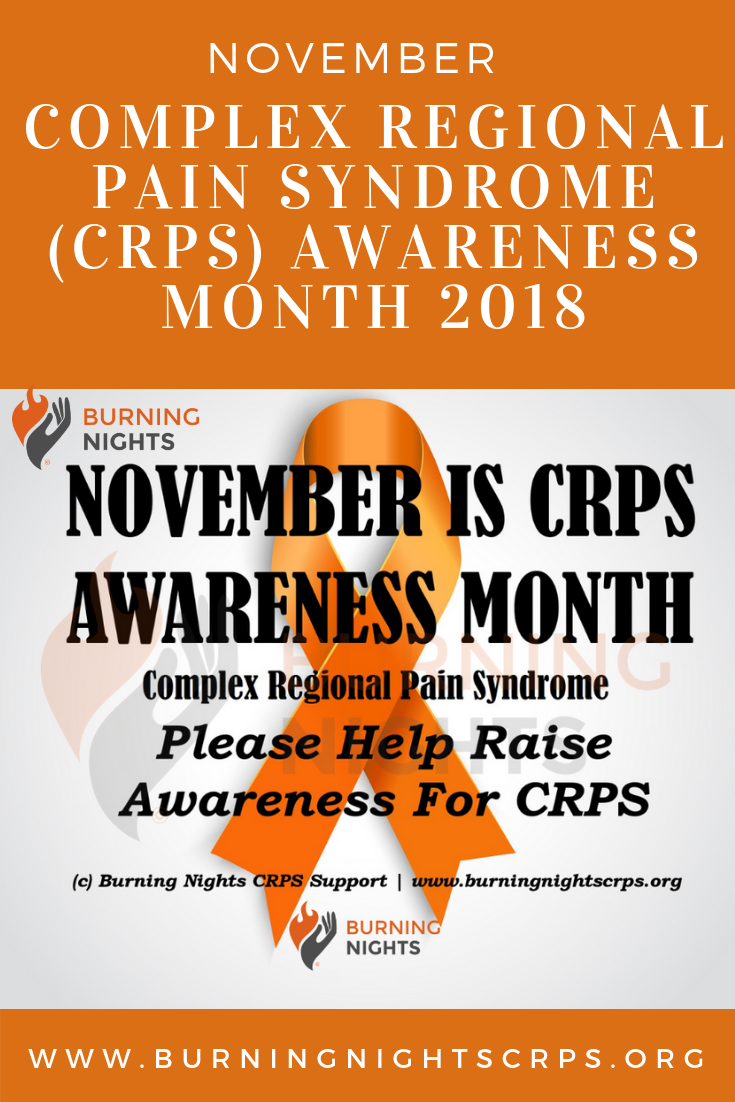 CRPS Awareness Month 2018 - Burning Nights CRPS Support - Please support CRPS awareness