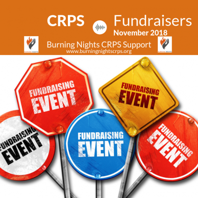 CRPS Fundraisers November 2018 - Burning Nights CRPS Support