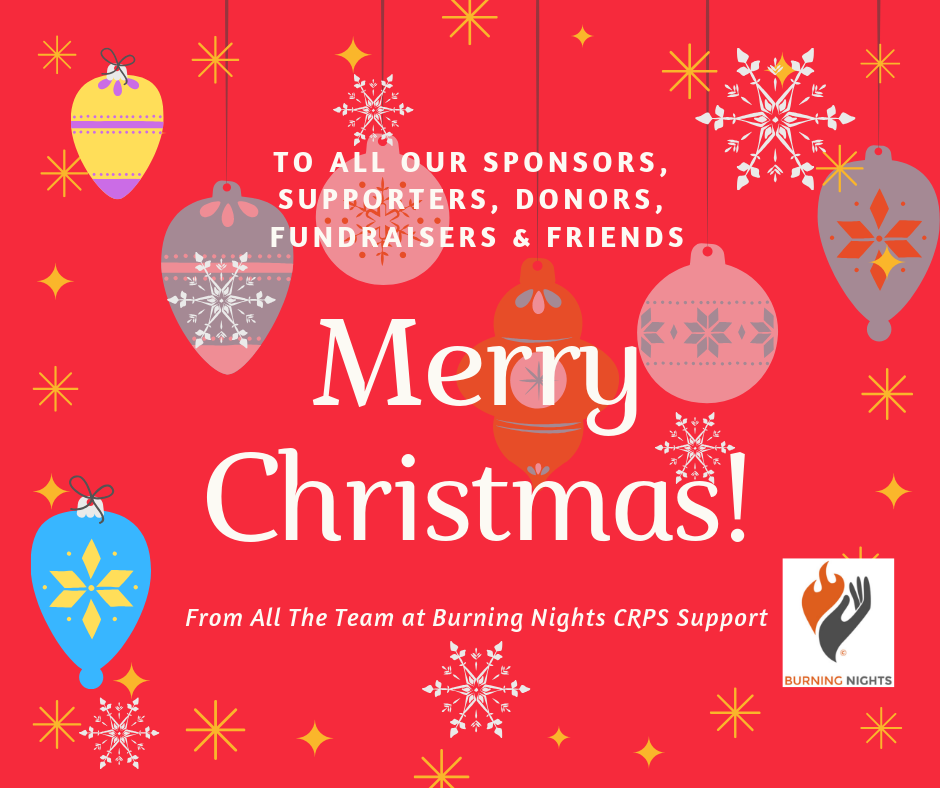 merry christmas happy new year 2019 from all the team at burning nights crps support