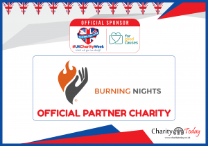 Burning Nights CRPS Support is supporting UK Charity Week 2018!