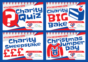 There are many events going on during UK Charity Week 2018 including Christmas Jumper Day, the Big Bake and an Exclusive Interview!