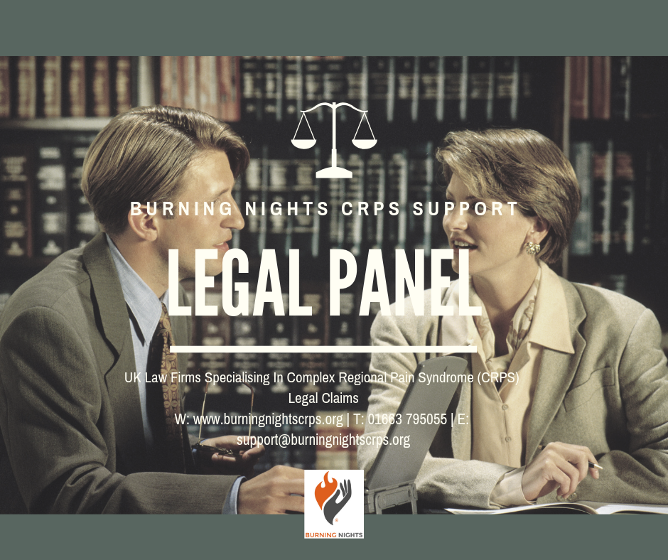 Legal Panel | CRPS lawyers | Burning Nights CRPS