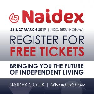Join Us at the 45th Anniversary of the Naidex Disability Exhibition! Find us on Stand N9053