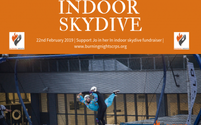 Please show your support for Jo in her Indoor Skydive fundraiser
