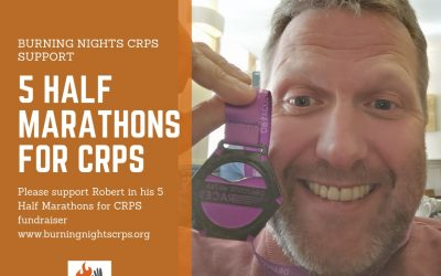 5 Half Marathons for CRPS in aid of Burning Nights CRPS Support
