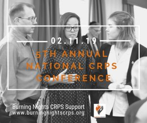 Join us at our 5th Annual National CRPS Conference. Burning Nights CRPS Support is a UK charity and we're holding our successful 5th annual national CRPS conference in Bristol in November 2019