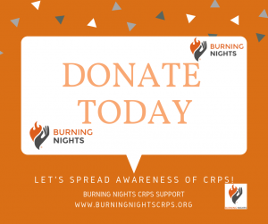 Donate - Burning Nights CRPS Support