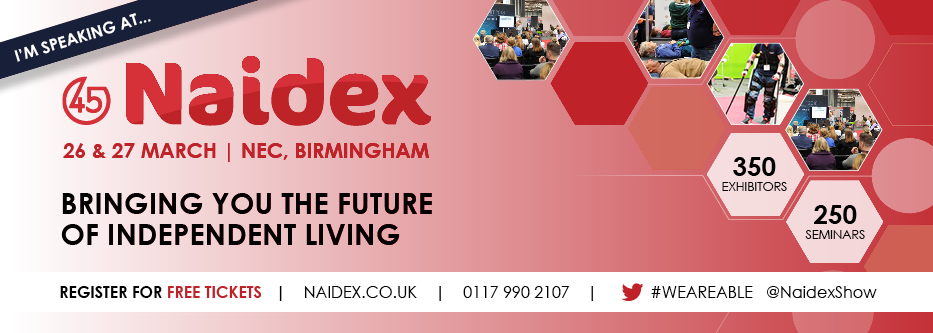 Naidex 2019 Speaker - Victoria Abbott-Fleming, Founder and Chair of Burning Nights CRPS Support