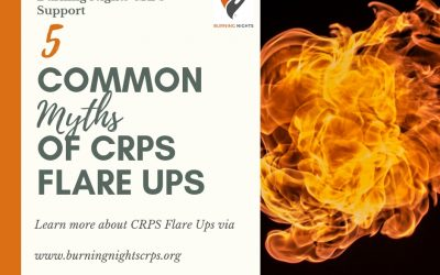 5 Common Myths of CRPS Flare Ups via Burning Nights CRPS Support
