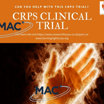 Are you interested in participating in the MAC Clinical Research trial for Complex Regional Pain Syndrome (CRPS)? If so find out a little more about the trial on the Burning Nights CRPS Support website