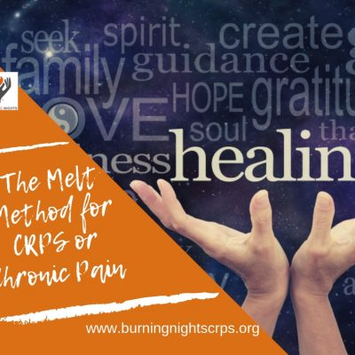 Find out about the Melt Method for CRPS or Chronic Pain via Burning Nights CRPS Support