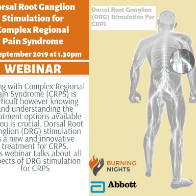 Join us for the Dorsal Root Ganglion stimulation for Complex Regional Pain Syndrome (CRPS) webinar on Monday 16 September 2019, starting at 1.30pm GMT. The speaker for this fantastic webinar will be Mr James Fitzgerald, Consultant Neurosurgeon.