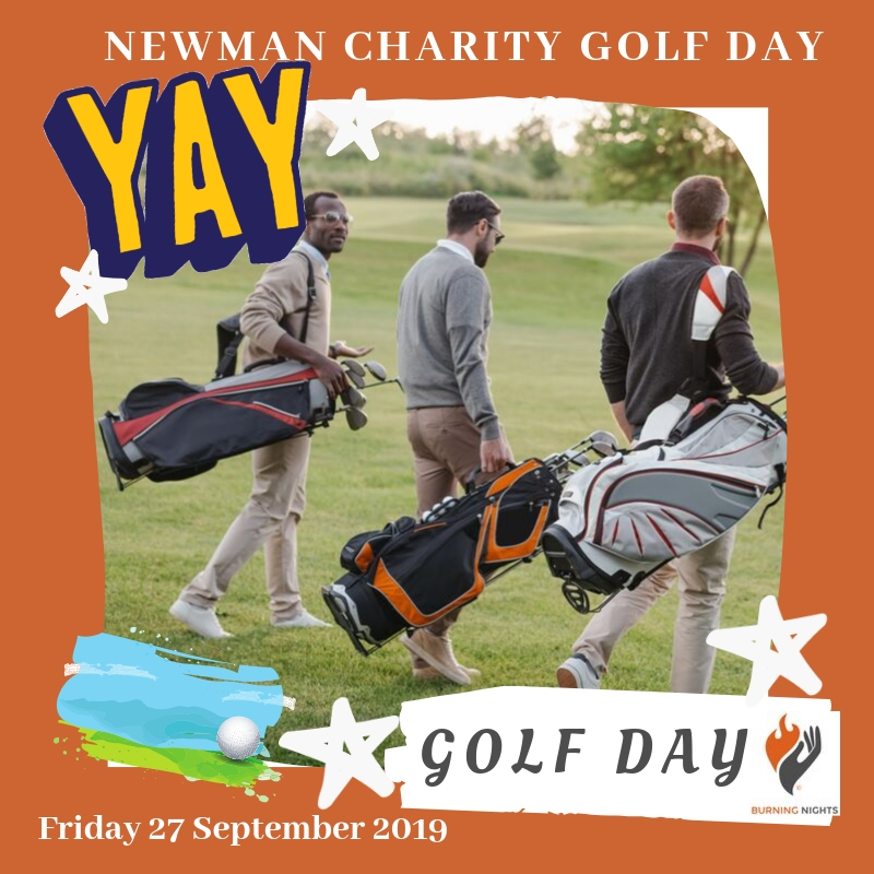 Join us on Friday 27 September 2019 for a fabulous Charity Golf Day 2019 with Newman Business Solutions in aid of Burning Nights CRPS Support. Good Luck to all the teams involved!
