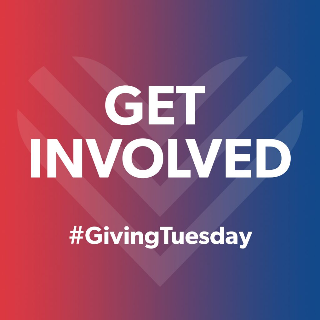 Why not get involved in Giving Tuesday 2019? Check out our website for more information on how you can get involved