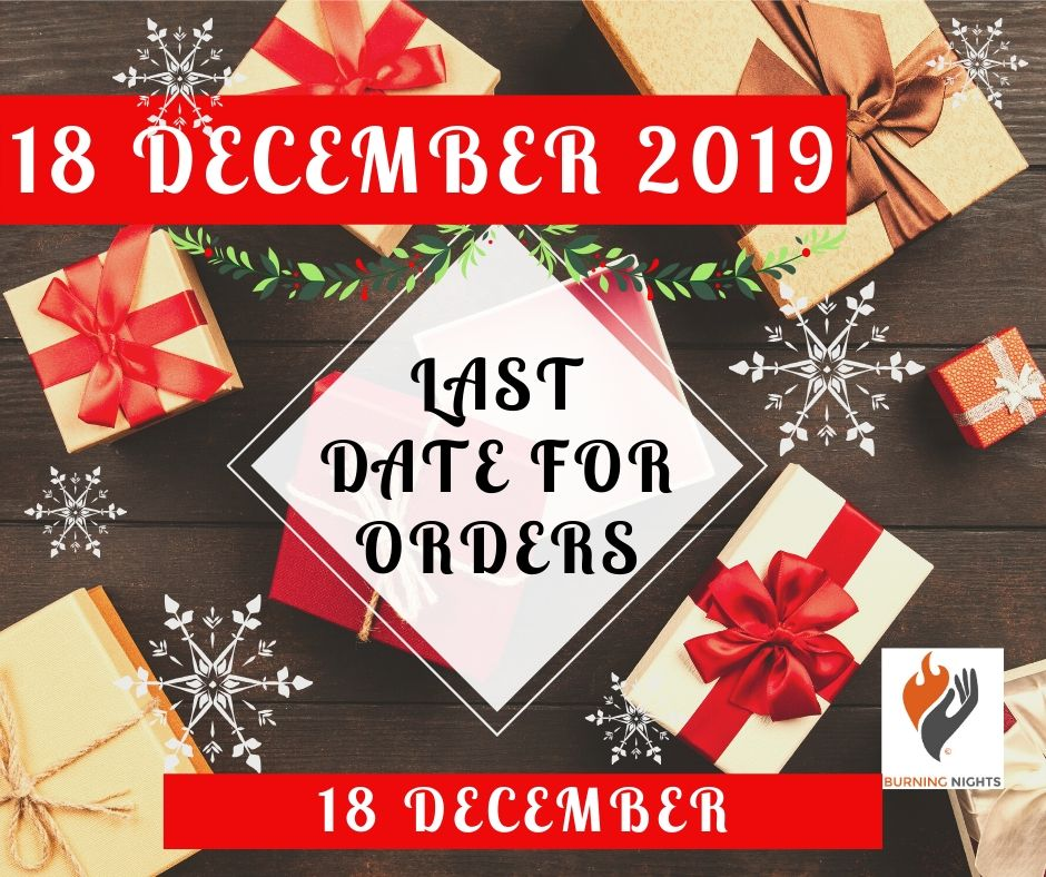 Merry Christmas and Happy New Year 2020 - The last date for UK post to reach you before Christmas is 18 December 2019