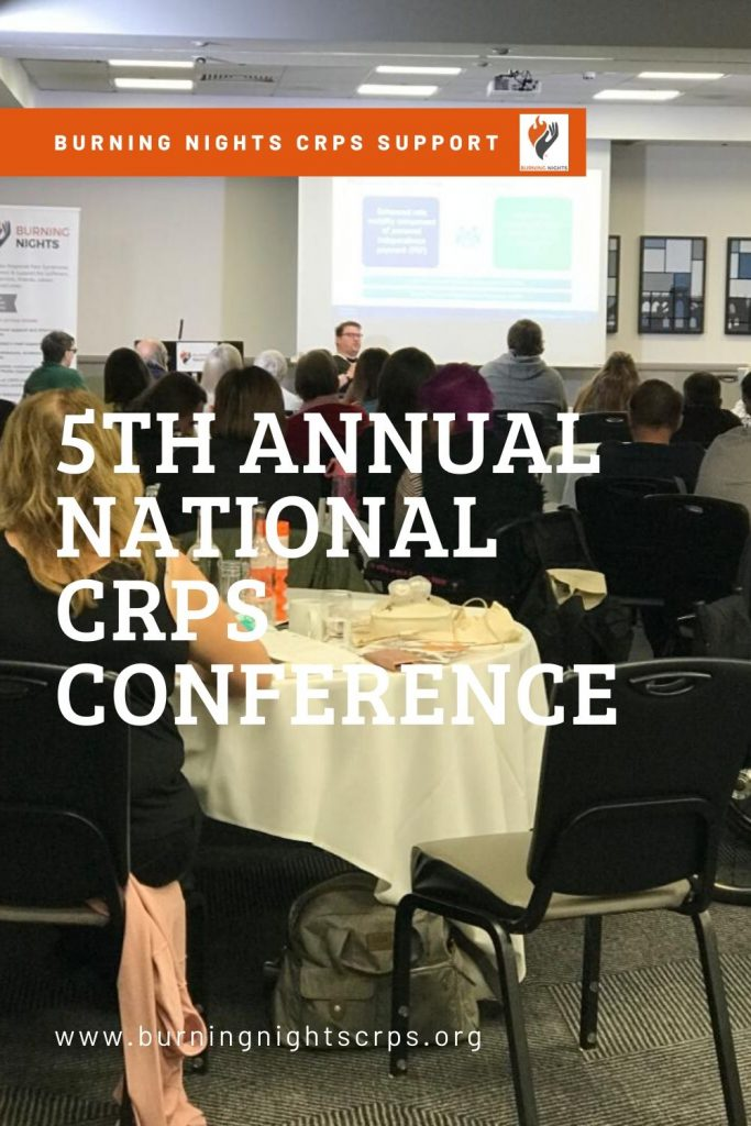 5th Annual National CRPS Conference overview - Find out what went on at our 5th annual national complex regional pain syndrome conference in Bristol