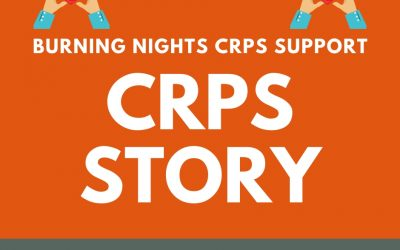 Read Stacey's CRPS Story to learn how she developed complex regional pain syndrome (CRPS) from a fall in March 2016 | Burning Nights CRPS Support
