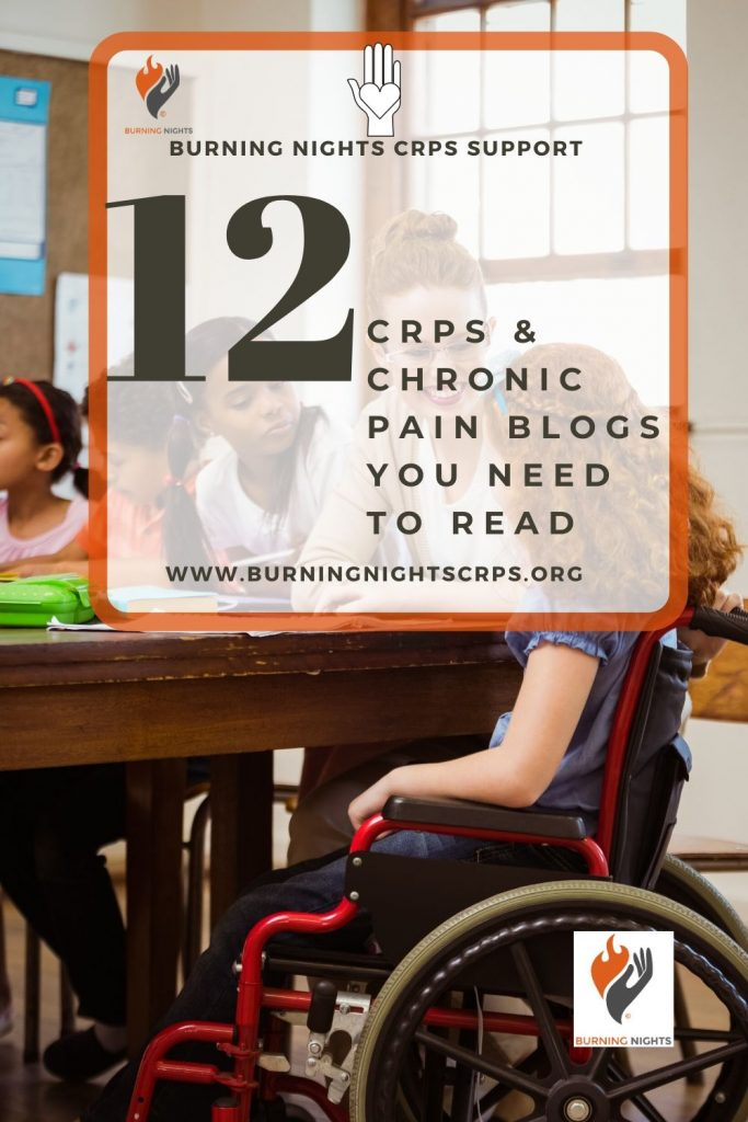 Find Out The Top 12 CRPS & Chronic Pain Blogs You Need To Read from Burning Nights CRPS Support, the leading UK charity for Complex Regional Pain Syndrome (CRPS)