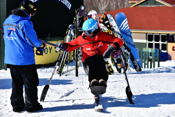 15 Wheelchair Sports for Active Wheelchair Users - Wheelchair skiing